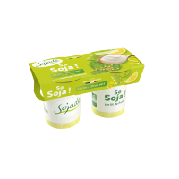 So Soja sur Lit de Fruits Citron - Citron vert